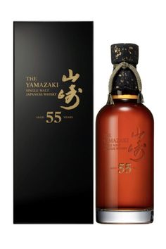 The Yamazaki 55 year old, Japan Cigars And Whiskey, Bourbon Whiskey, Whiskey Bottle, Wine Label Design, Bottle Design, Malt Whisky, Scotch Whisky, Liquor Bottles, Perfume Bottles