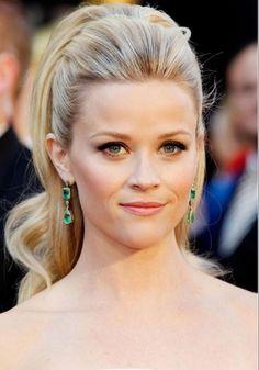 hoch gebundener Pferdeschwanz - Reese Witherspoon
