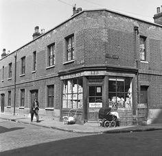 M G Thomas Dairy And Provisions Store Corner Of Deal Woodseer Streets C 1955