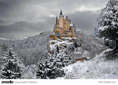 Alcazar Kalesi, Segovia - İspanya