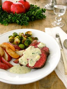 Jenny Steffens Hobick: Blue Cheese Sauce for Beef Tenderloin Recipe   Holiday Party Recipe