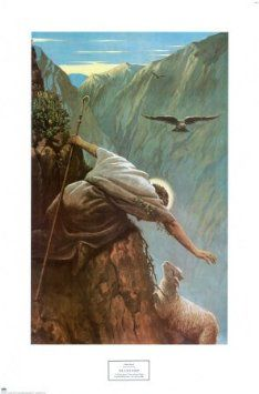 Amazon.com: The Lost Sheep Art Poster Print by Alfred Soord, 17x25: Home & Kitchen