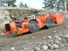 0.75 CBM Mine Roadway Carry-Scraper  Underground Mining Scooptram Construction Machinery.