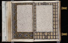 Beinecke MS 375  The letters E, F, and G, surrounded by the cordeliere borders on each text page probably refer to the original owner, who remains unidentified; the prominent use of the knotted cordeliere borders suggests that MS 375 was produced for a member of the sisterhood Chevalieres de la Cordeliere, founded in 1498 by Anne of Brittany for widows of the nobility. http://brbl-dl.library.yale.edu/vufind/Record/3437122