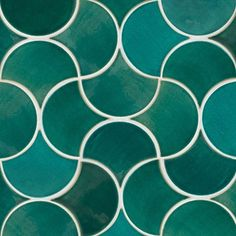 Here's some #MoroccanFishScales eye candy for youMedium Moroccan Fish Scales - 1017W Sea Mist in a Wave Pattern