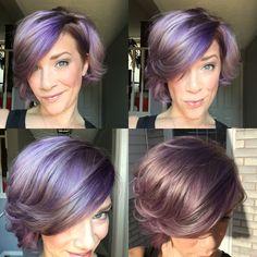 Lavender hair!                                                       …