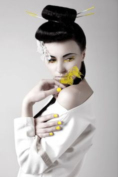 Contemporary Geisha Captures - The In the Time of Butterflies Editorial Features Oriental Fashions (GALLERY)