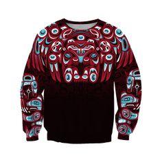 AM Style The Bear - Native American All Overprinted Shirts - Sweatshirts / XXL