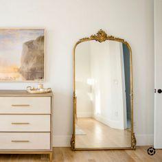 White Master Bathroom, Master Bedroom Design, Marble, Journey, Decor Ideas, Mirror, Building, Instagram, Home Decor