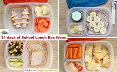 Ideas for a whole month of school lunches!