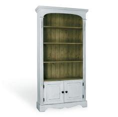 Boekenkast met deurtjes afmeting H 190 x B 98 cm x D 32 cm - Inndoors Meubelen en Interieur