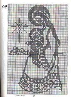 101 Filet Crochet Charts 47 | Flickr - Photo Sharing!