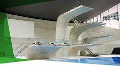 London Aquatics Centre_for a swimming session!