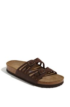 Birkenstock 'Granada' Soft Footbed Oiled Leather Sandal available at #Nordstrom