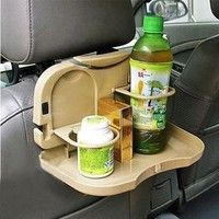 I think you'll like Multifunction Car Back Seat Baby Bottle Drink Cup Folding Tray Holder. Add it to your wishlist!  http://www.wish.com/c/5385619b71795158a1a3c0c7