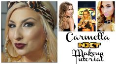 The most fabulous Diva, the Staten Island Princess, Carmella is fierce! Love her style, I feel like she is a diva whose style is most similar to my own. Nxt Divas, Dramatic Makeup, Makeup Inspiration, Superstar, Wwe, Makeup Looks, Inspired, Youtube, Style
