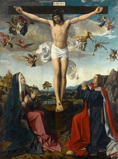 Josse Lieferinxe - The Crucifixion (1500-1505)