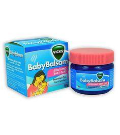 Dầu bôi cho bé Baby Balsam