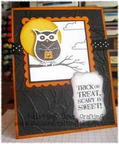 Trick or treat, smell my feet! by Minders - Cards and Paper Crafts at Splitcoaststampers