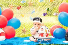 Curitiba, Kelli Homeniuk, Ensaio de bebê, 11 meses, 1 aninho, pré aniversário, bolo big Cupcake, Smash The Cake, Cake Smash, bolo , marinheiro, menino marinheiro, marinheirinho, externo (41)9729-6585 ©Kelli Homeniuk - Fotografia Profissional