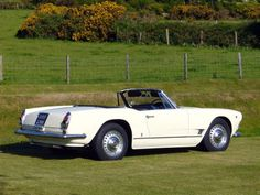 Photo MASERATI 3500 GT Spider cabriolet 1959