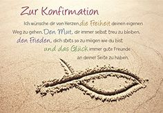 1 envelope card congratulation card confirmation fish in the sand beach x cm Invitation Wording, Invitation Design, Invitation Cards, Invitations, Words Quotes, Sayings, Reiki Symbols, Congratulations Card, Some Words