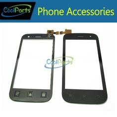 Pour Fly IQ442 IQ 442 Écran Tactile Digitizer Tactile En Verre Panneau Noir Couleur Disponible 1 PC/Lot