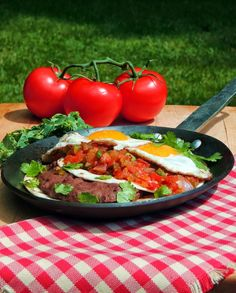 Bobbi's Kozy Kitchen: Huevos Rancheros #ChooseDreams #WeekdaySupper