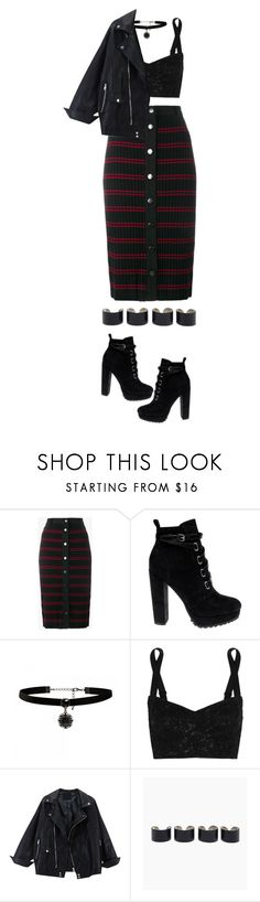 """""""1275."""" by asoul4 ❤ liked on Polyvore featuring Adam Selman, Daya, Forever New, Dolce&Gabbana and Maison Margiela"""