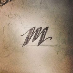 m __ Hand Lettering by [ts]Christer