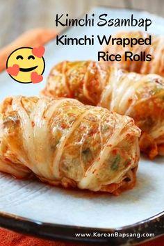 Korean Beef Recipes, Korean Food, Asian Recipes, Ethnic Recipes, Polish Food, Polish Recipes, Rice Rolls, Korean Side Dishes, Homemade Sushi
