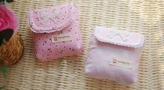 Fabric & Sewing Handicraft : DIY pouch for sanitary napkin