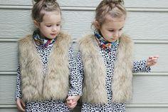 Easy DIY Faux Fur Vest for Toddler