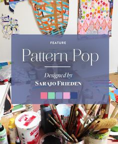 In the studio with artist Sarajo Frieden