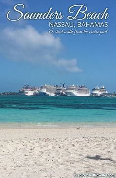 A Day at the Beach in Nassau Bahamas by Calculated Traveller: