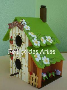 .Birds need houses too!!!                                                                                                                                                      Mais