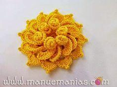 fiori 3 | Hobby lavori femminili - ricamo - uncinetto - maglia