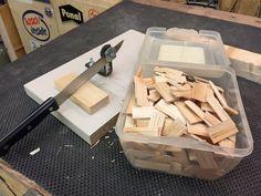Die Schindelschneidvorrichtung Bauanleitung zum selber bauen