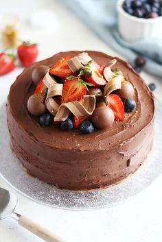 Chokladflufftårta (My Kitchen Stories) Lava Cake Recipes, Lava Cakes, Food Cakes, Cupcake Cakes, Cupcakes, Fun Desserts, Dessert Recipes, Chocolate Lava Cake, How To Make Chocolate