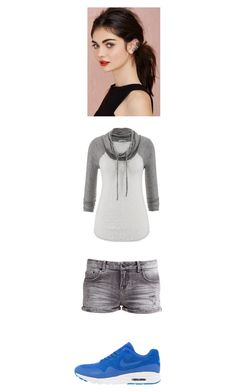 """Rooftop Jumping with Leo"" by maryvarleyrox ❤ liked on Polyvore featuring beauty, maurices, LTB by Little Big and NIKE"