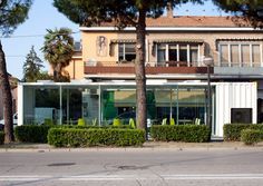 Padiglione Econtainer, Ravenna.