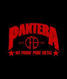 Pantera cowboys from hell logo   Commit Panteraism   Rock
