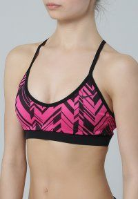 Nike Performance - Sports bra - hot pink/black