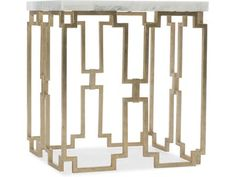 Shop this hooker furniture evermore kala white marble / gold wide square end table from our top selling Hooker Furniture living room tables. LuxeDecor is your premier online showroom for living room furniture and high-end home decor. Gold End Table, Diy End Tables, Metal End Tables, Living Room End Tables, End Table Sets, End Tables With Storage, Gaming Furniture, Hooker Furniture, Furniture Upholstery