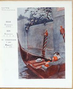 Georges Léonnec (1881 – 1940). La Vie Parisienne, 2 Avril 1932. [Pinned 12-x-2016]