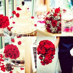 Red Rose Wedding theme
