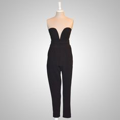 20013-Sweetheart Style Jumpsuit - House of Posh Boutique