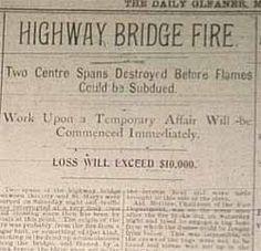 The bridge was destroyed two spans in summer of Bridges, Street, Summer, Summer Time, Roads, Verano