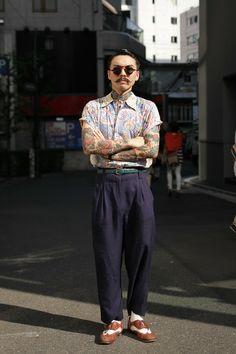 ストリートスナップ [YOSHI] | vintage, ヴィンテージ | 原宿 | Fashionsnap.com