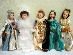 Dolls-in-historical-costumes-Deagostini - Google keresés